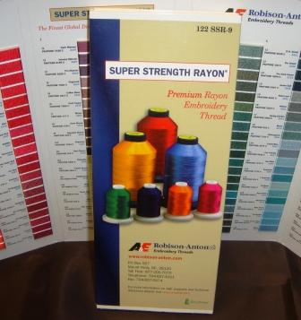 ROBISON ANTON RAYON COLOR CARD
